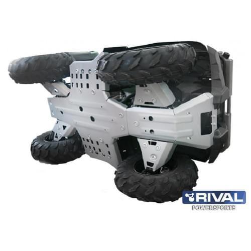 Комплект AL защиты днища Yamaha Grizzly 450 (2009-)