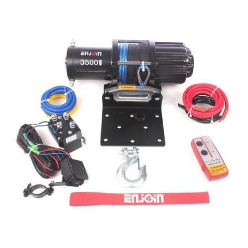Лебедка с синтетическим тросом и дистанционным пультом управления ENJOIN